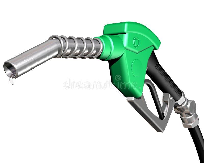 Gicleur de pompe à gaz d'égoutture illustration de vecteur