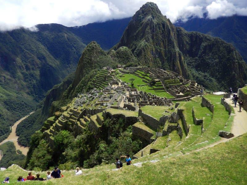 Gico de Machu Picchu del  fotografía de archivo libre de regalías