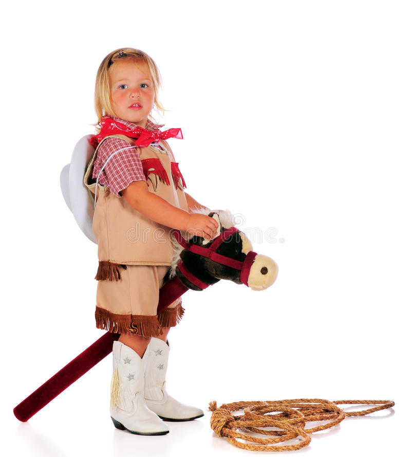 Free Giddy-Up Cowgirl Royalty Free Stock Photo - 15948585
