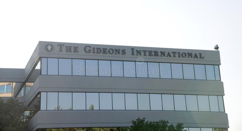Gideons International Building Nashville, TN stock image
