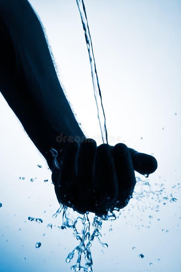 Gietend Water stock afbeeldingen