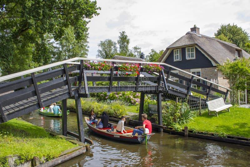 Giethoorn, Países Baixos foto de stock