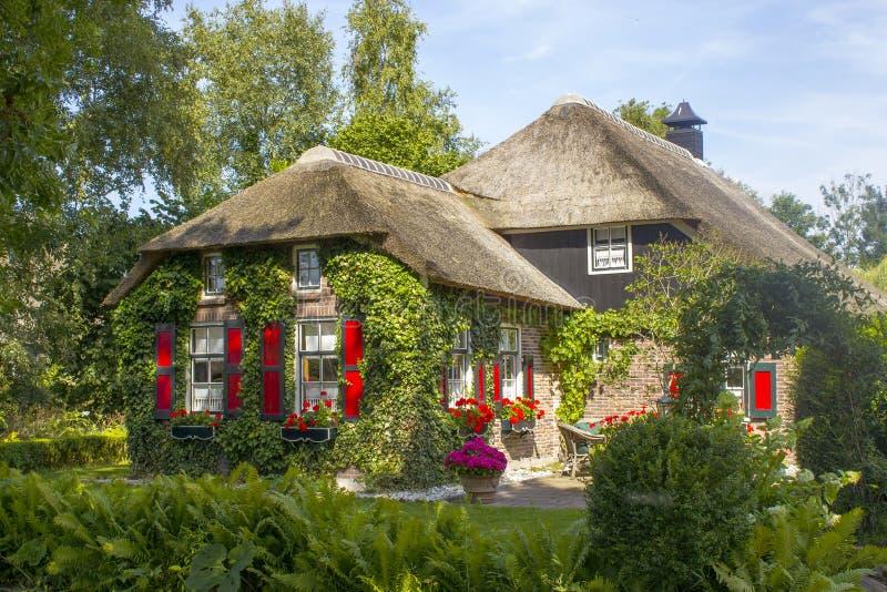 Giethoorn, Paesi Bassi immagini stock libere da diritti