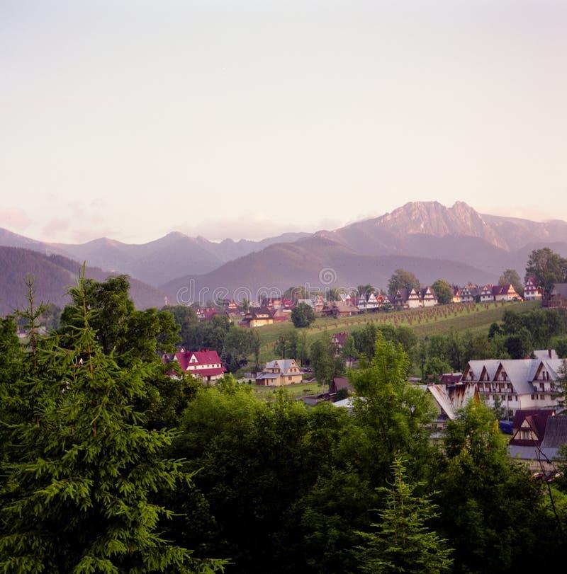Giewont. Poolse bergen Tatra. royalty-vrije stock afbeeldingen