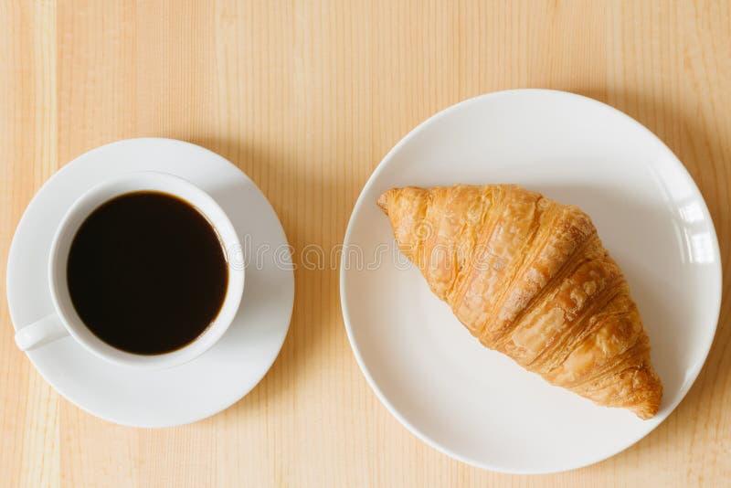 Giffel och kaffe arkivfoto
