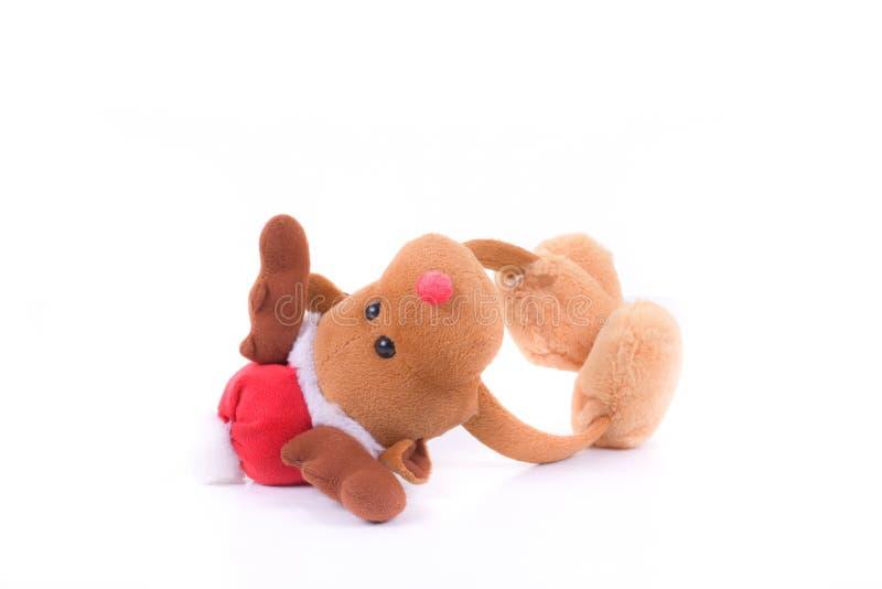 Gifi do Natal do inverno da rena das capas protetoras para as orelhas fotos de stock royalty free