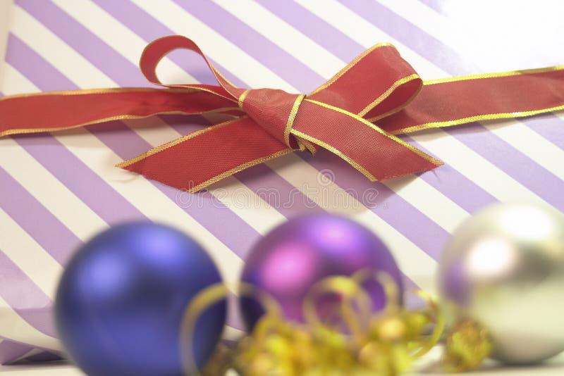 Download Gift stock image. Image of shine, arrangement, noel, ribbon - 105011