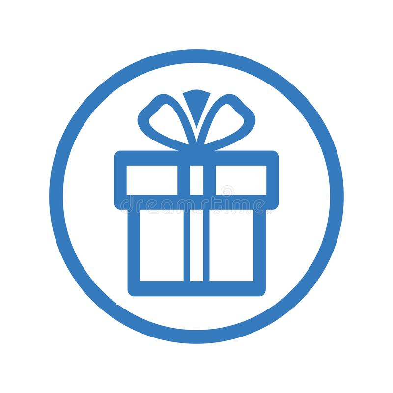 Gift/Gift box Icon royalty free illustration