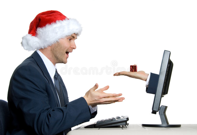 Download The Gift stock image. Image of male, giving, capitalism - 1523457