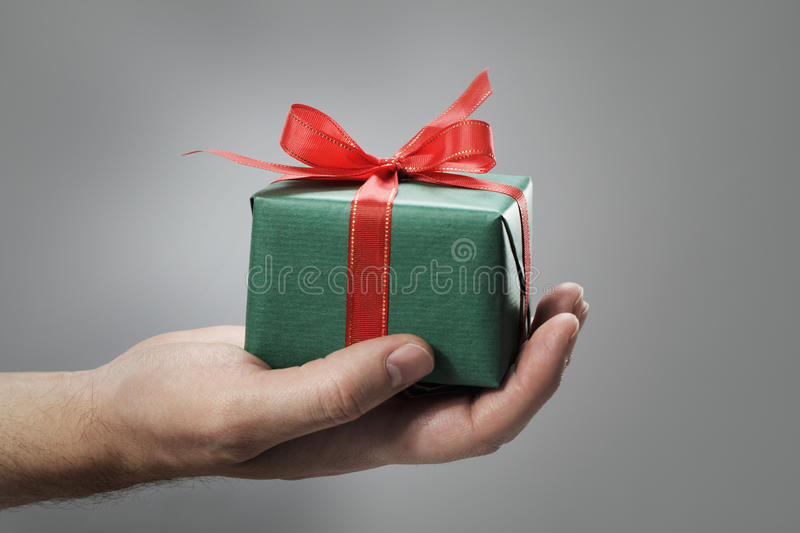 Download Gift stock photo. Image of surprise, present, green, unknown - 16006024