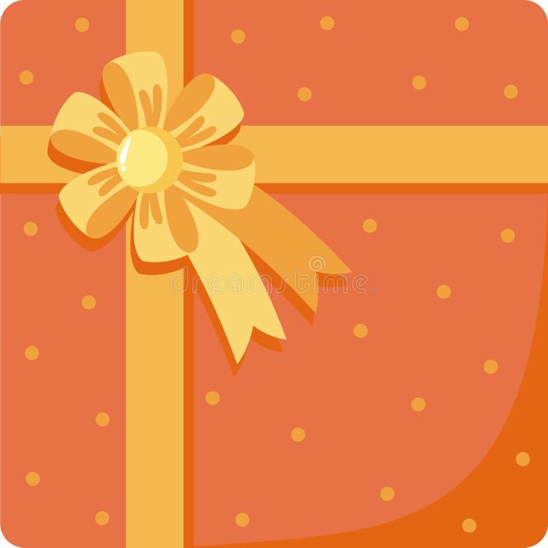 Download Gift stock vector. Illustration of invitation, cute, ribbon - 17424998