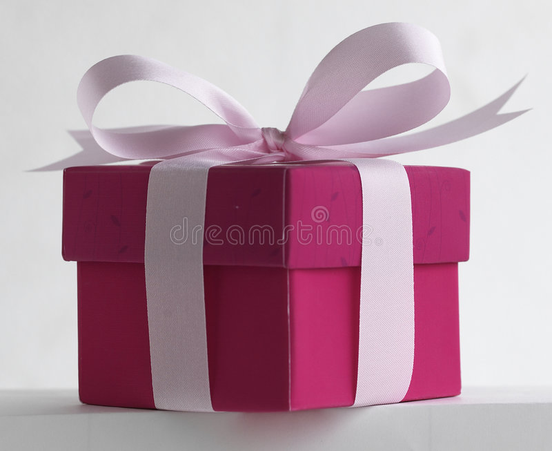 Gift. Box royalty free stock photography