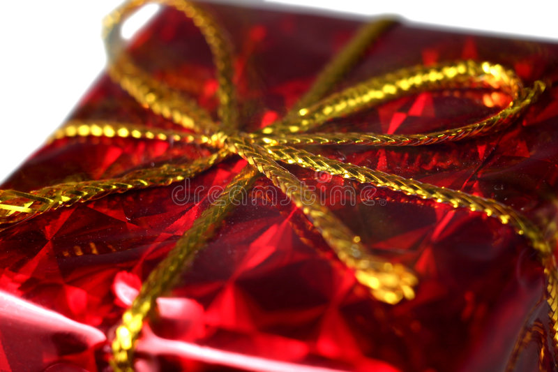 Download Gift stock image. Image of isolated, gold, colour, present - 7687581