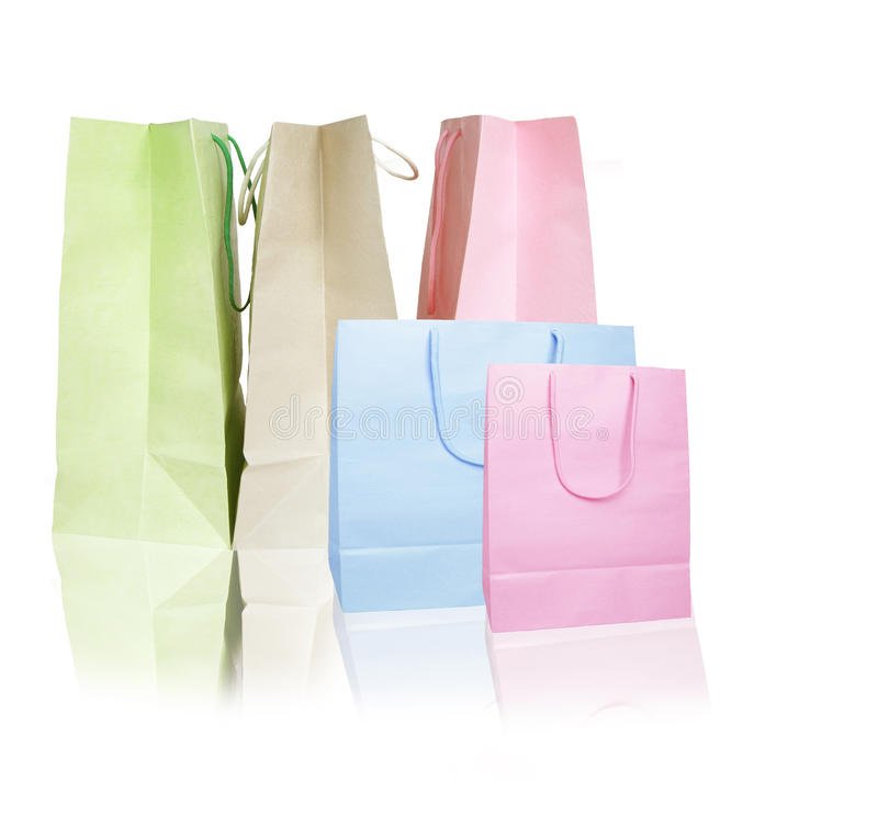 Download Gift bag stock photo. Image of single, nobody, color - 18082280