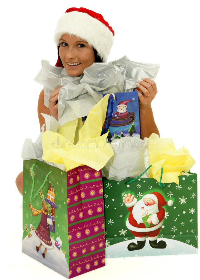 Download Gift bags stock image. Image of human, bags, offering - 22107959