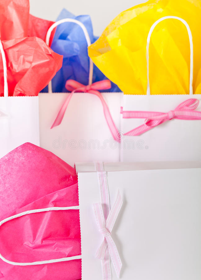 Download Gift bags for any occasion stock photo. Image of object - 25283408