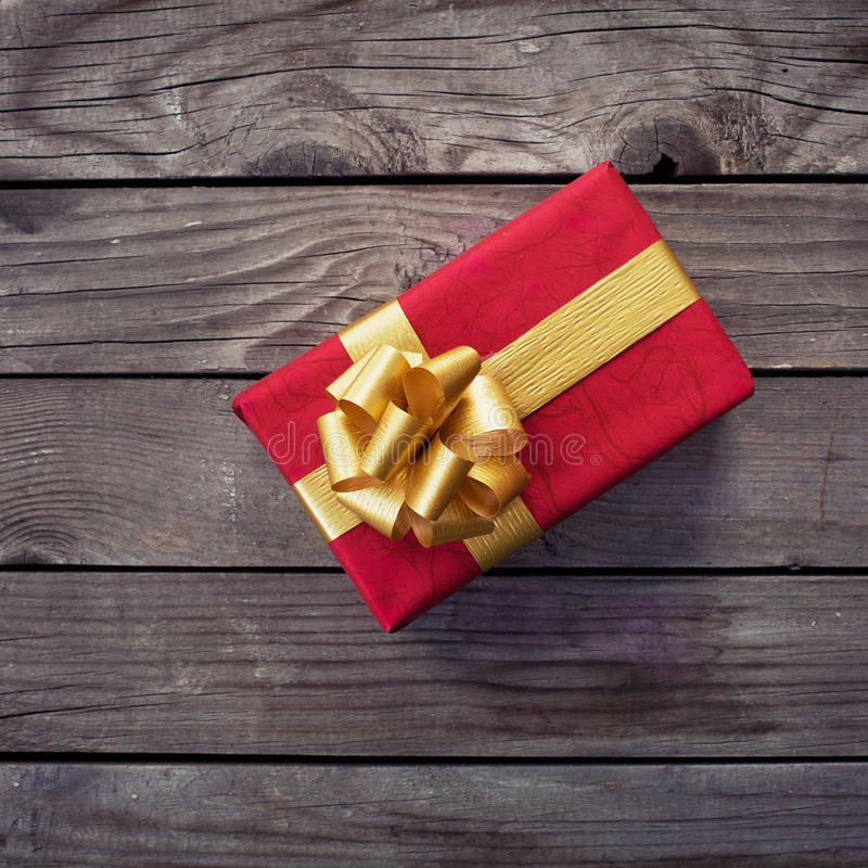 Gift for birthday stock photography