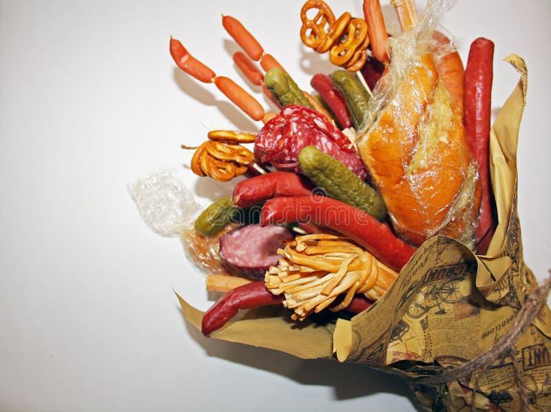 Gift a bouquet stock photos