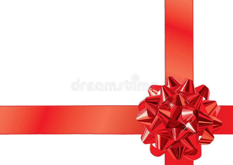 Download Gift Bow (vector) stock vector. Image of retail, giving - 3233855