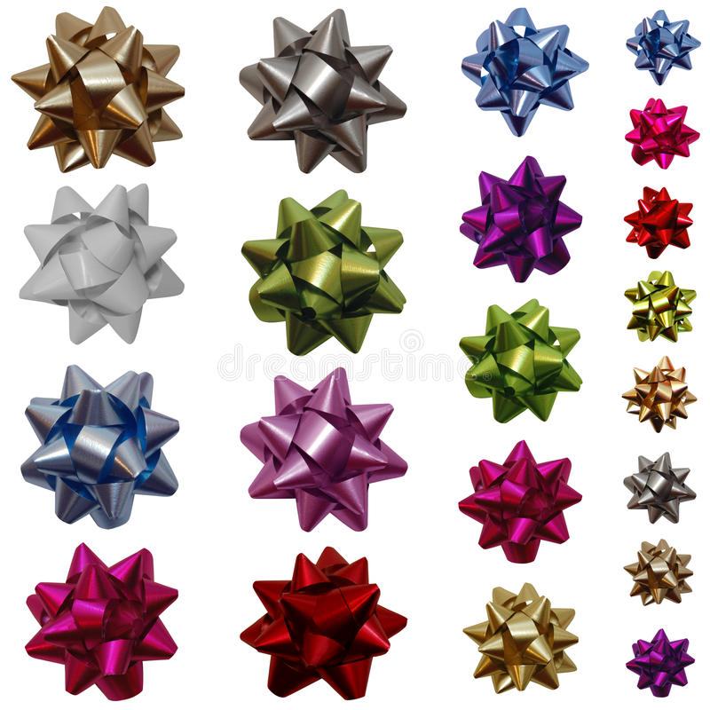 Free Gift Bows Stock Photography - 12361122