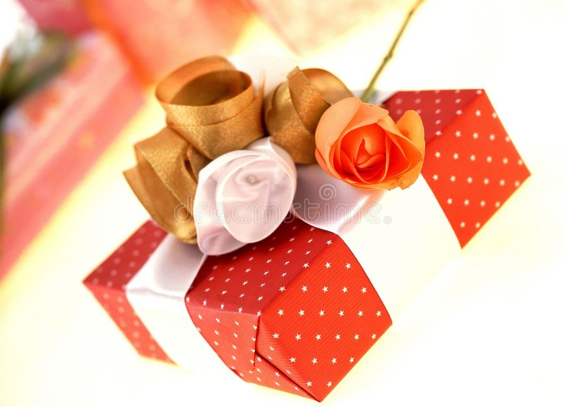 Download Gift Box stock photo. Image of gift, present, package, paper - 106470