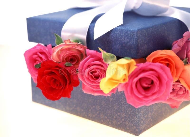 Download Gift Box stock image. Image of celebration, petal, decoration - 106479