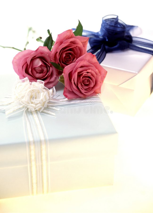 Download Gift Box stock photo. Image of package, cake, present, centrepiece - 106488