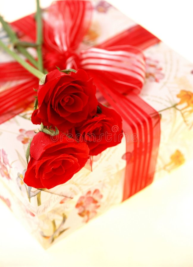 Download Gift Box stock photo. Image of floristry, gift, wrapping - 106498