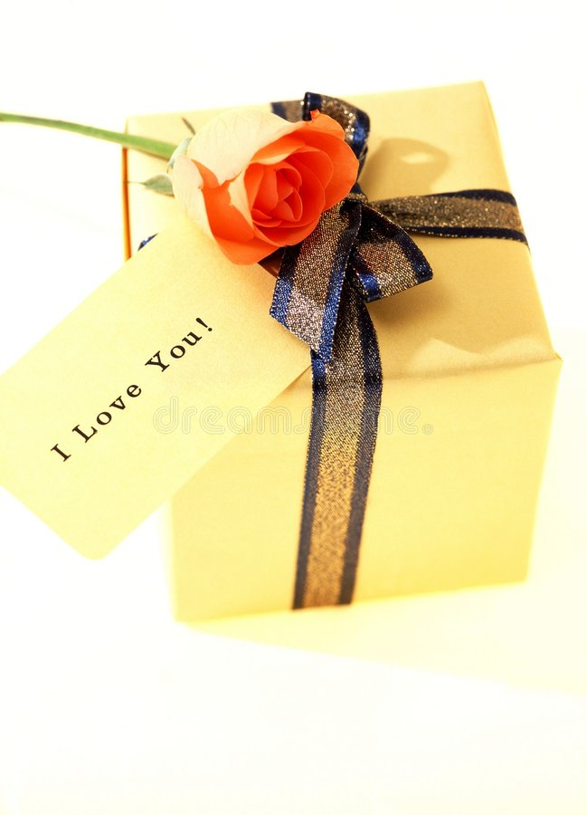 Download Gift Box stock photo. Image of card, decoration, paper - 108374