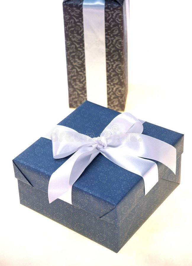 Download Gift Box stock image. Image of gift, birthday, ribbon, paper - 108383