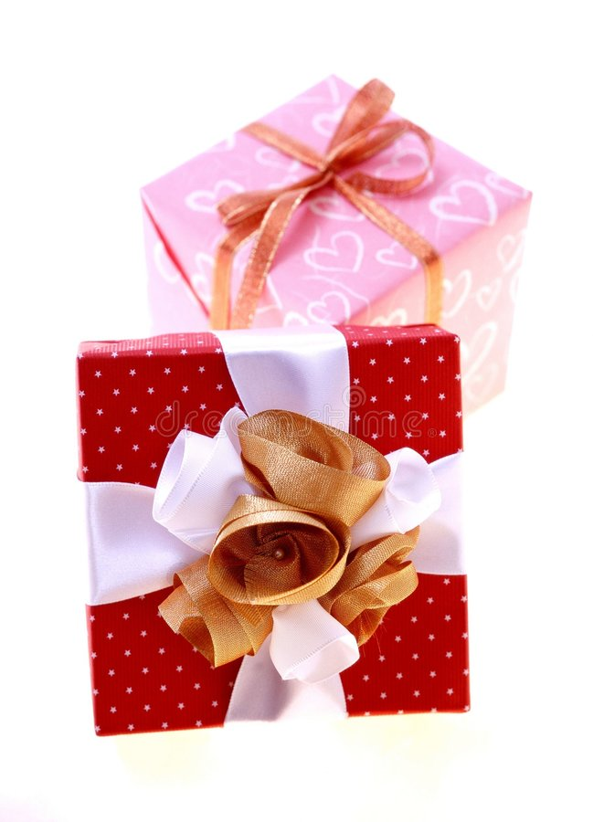 Download Gift Box stock photo. Image of petal, decoration, wrapping - 108386