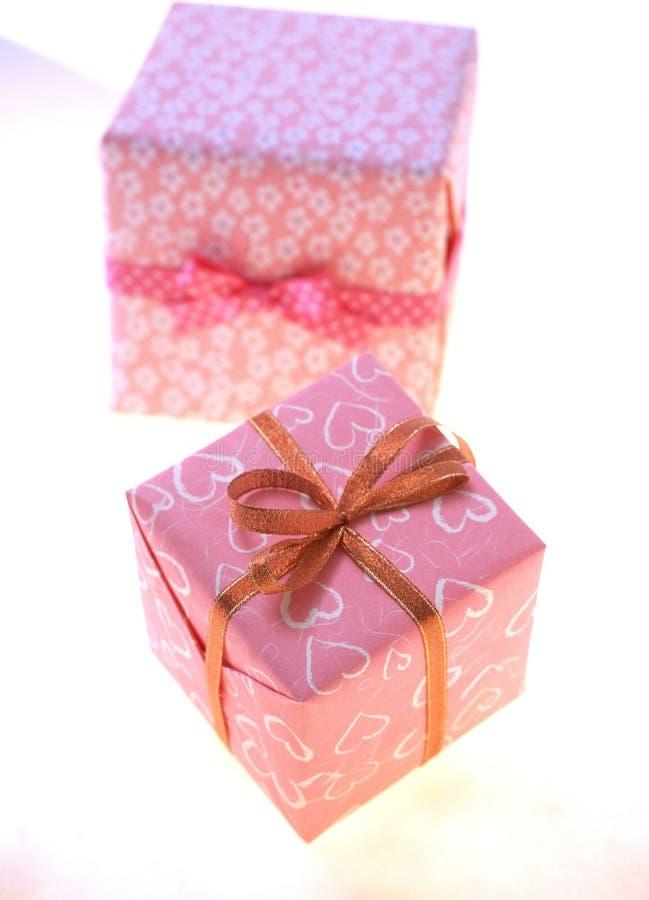 Download Gift Box stock image. Image of celebration, ribbon, paper - 108387