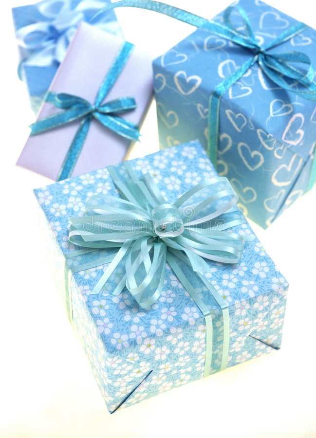 Download Gift Box stock photo. Image of gift, paper, package, turquoise - 111426