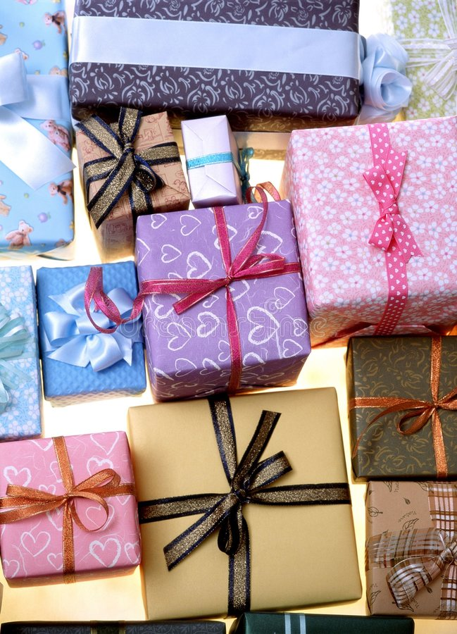 Download Gift Box stock photo. Image of decoration, product, wrapping - 111436