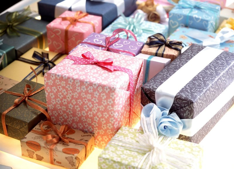 Download Gift Box stock image. Image of package, decoration, ribbon - 111455
