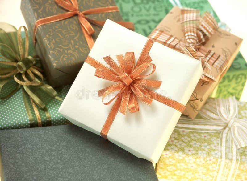 Download Gift Box stock image. Image of paper, present, package - 111461