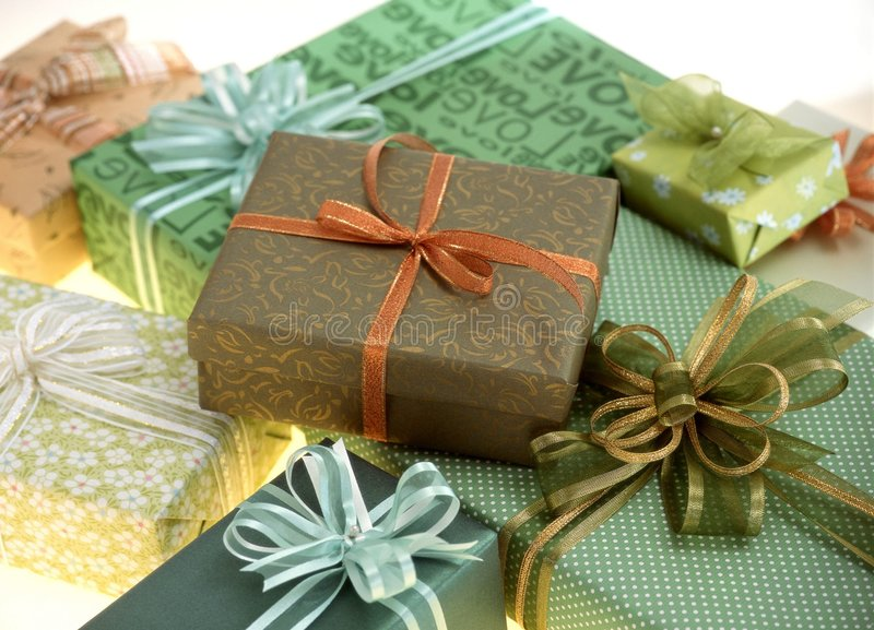 Download Gift Box stock image. Image of package, birthday, wrapping - 113575