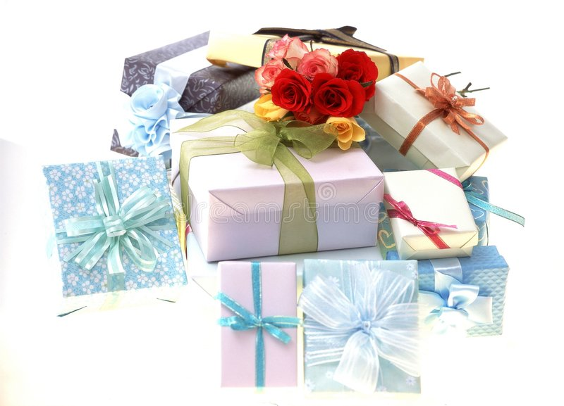 Download Gift Box stock photo. Image of paper, gift, package, present - 113580