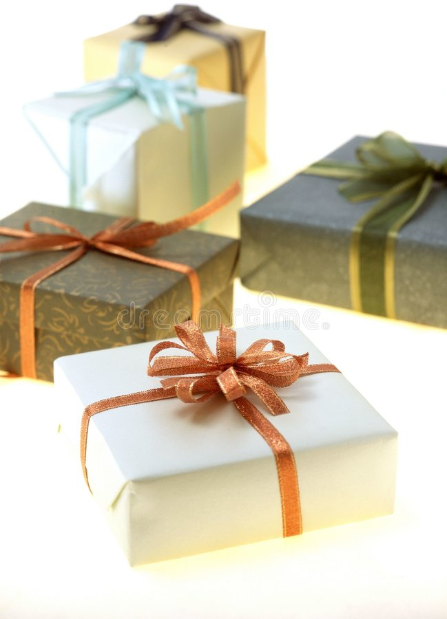 Download Gift Box stock photo. Image of paper, present, gift, wrapping - 113600