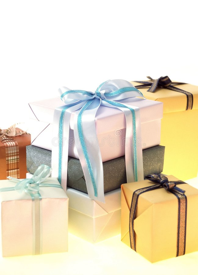 Download Gift Box stock photo. Image of decoration, paper, wrapping - 113760