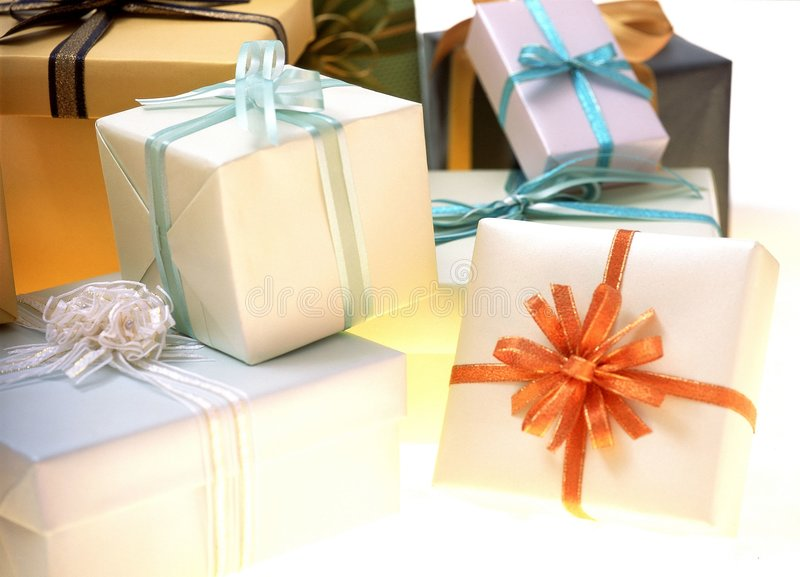 Download Gift Box stock image. Image of present, ribbon, celebration - 113763