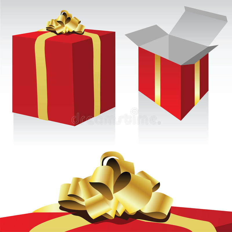 Download Gift Box stock vector. Image of object, happy, design - 12277140