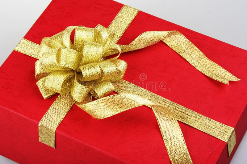 Download Gift Box stock photo. Image of birthday, special, curls - 1408072