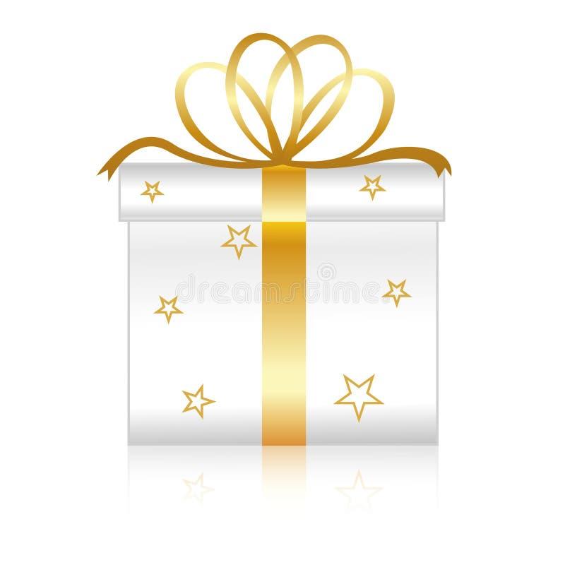 Download Gift box stock vector. Illustration of illustration, gold - 14595297