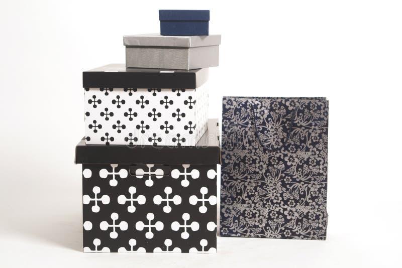 Gift box. Isolated on white background stock image