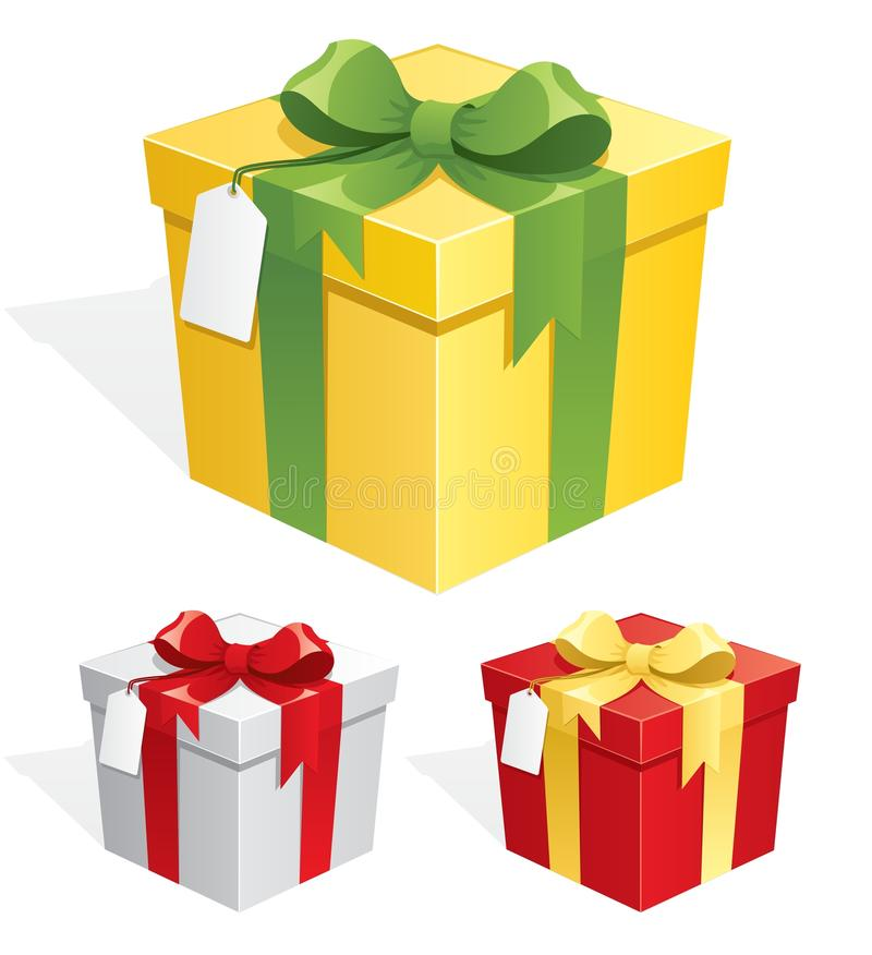 Download Gift Box stock vector. Image of element, gift, clip, label - 15871730