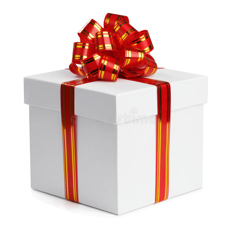 Download Gift box. stock image. Image of golden, package, surprise - 16740609