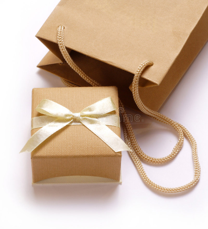 Gift box stock photos