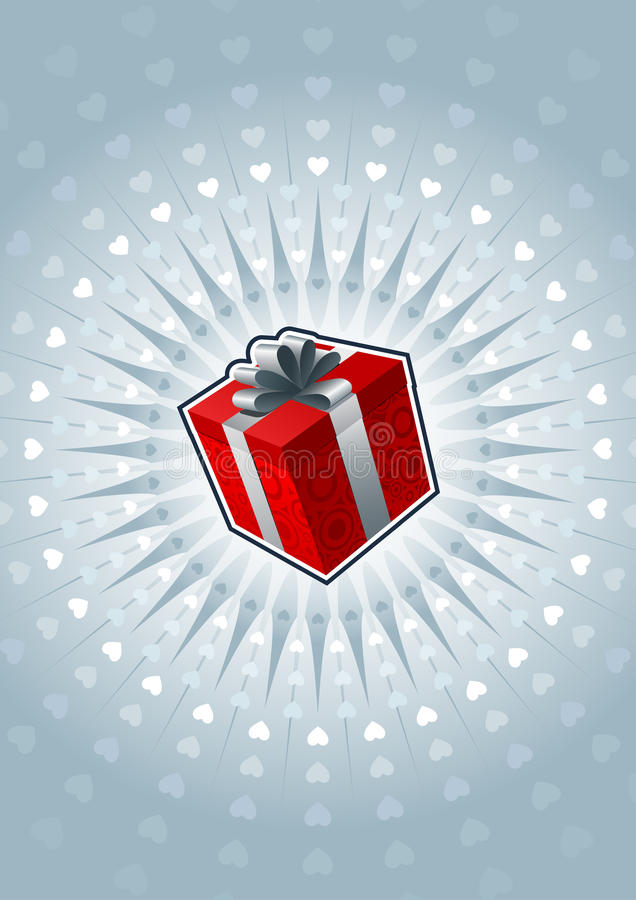 Download Gift box stock vector. Image of colorful, present, elegant - 22636391