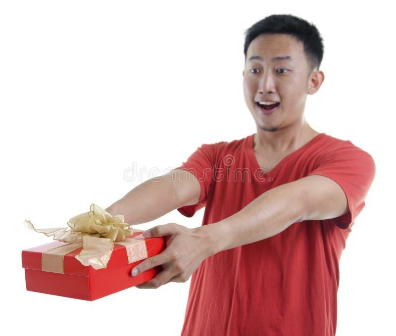 Download Gift box stock photo. Image of boyfriend, christmas, celebrate - 23067628